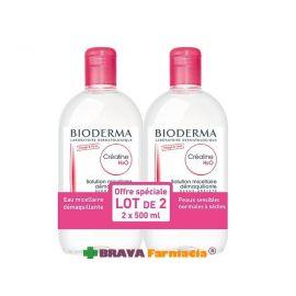 BIODERMA SENSIBIO H2O 500 ML FORMATO PUMP