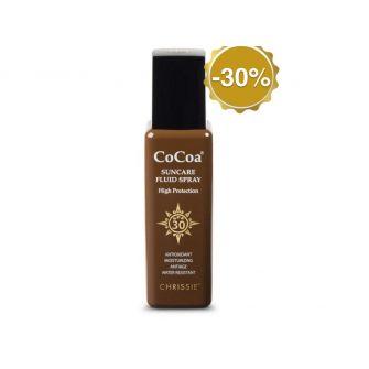 Chrissie Cocoa Spf 30 Suncare Fluid Spray