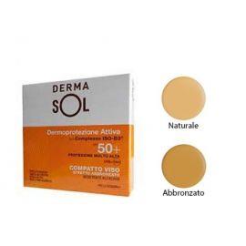 Dermasol Compatto Viso 50+ effetto Abbronzato