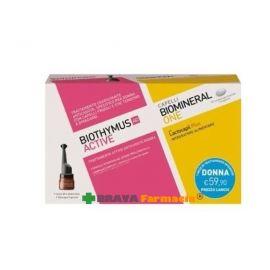 Biothymus AC fiale urto donna + Biomineral one 30 capsule Omaggio