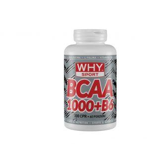 Why Sport BCAA 1000+B6 300 capsule Aminoacidi Ramificati