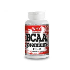 Why Sport BCAA Premium +B6 200 compresse Aminoacidi Ramificati