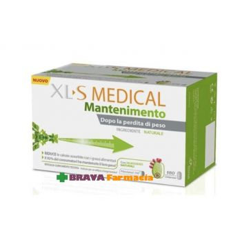XLS MEDICAL mantemimento 180 campresse