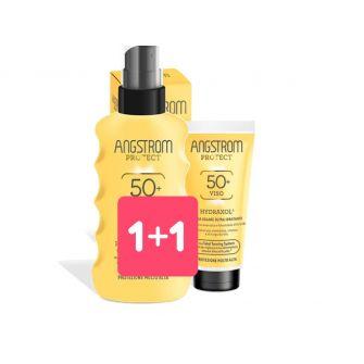 Bipack Angstrom Solare Spray spf 50 + crema