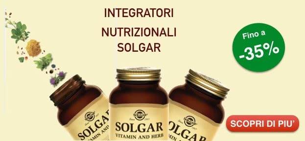 integratori Solgar scontati